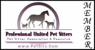 Professional United Pet Sitters Official Member